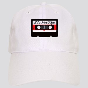 80s Music Mix Tape Cassette Cap